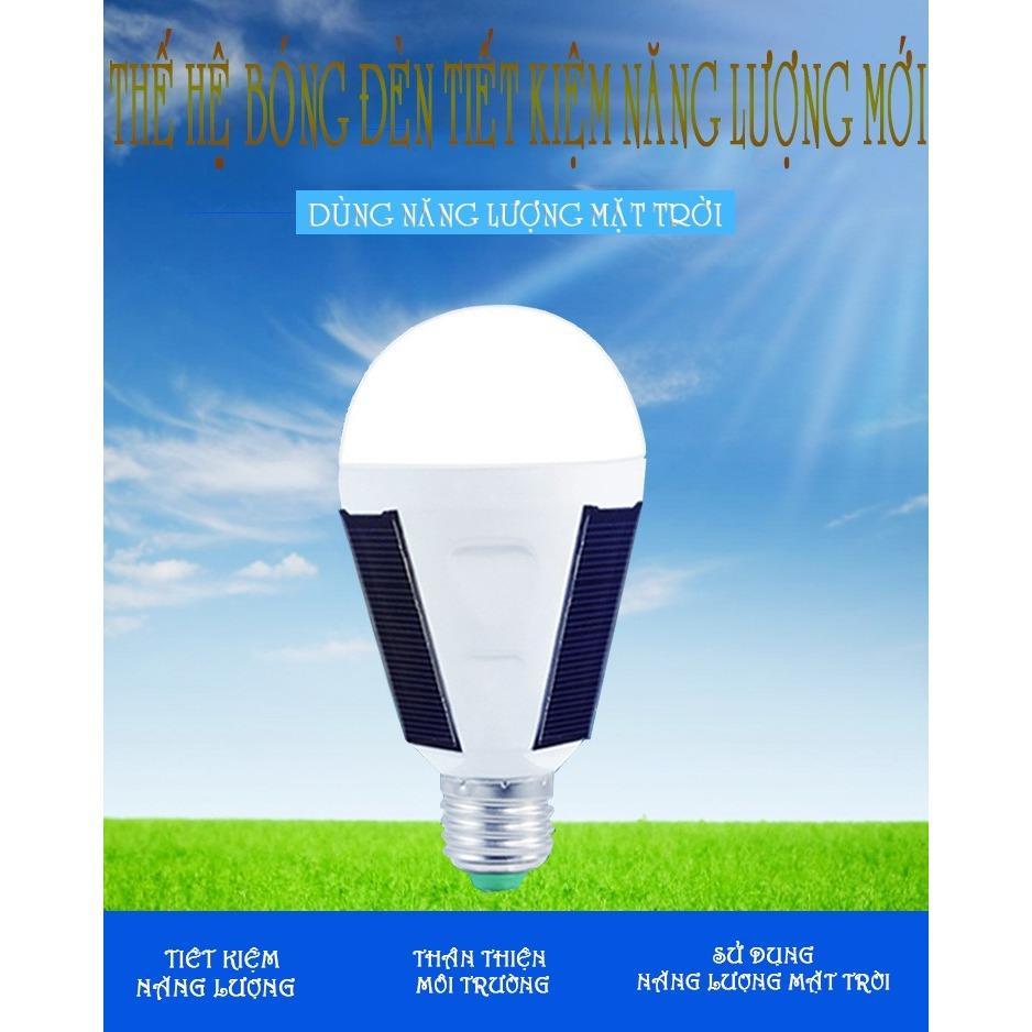 Bóng Đèn LED năng lượng mặt trời (đặc biệt không dùng điện)