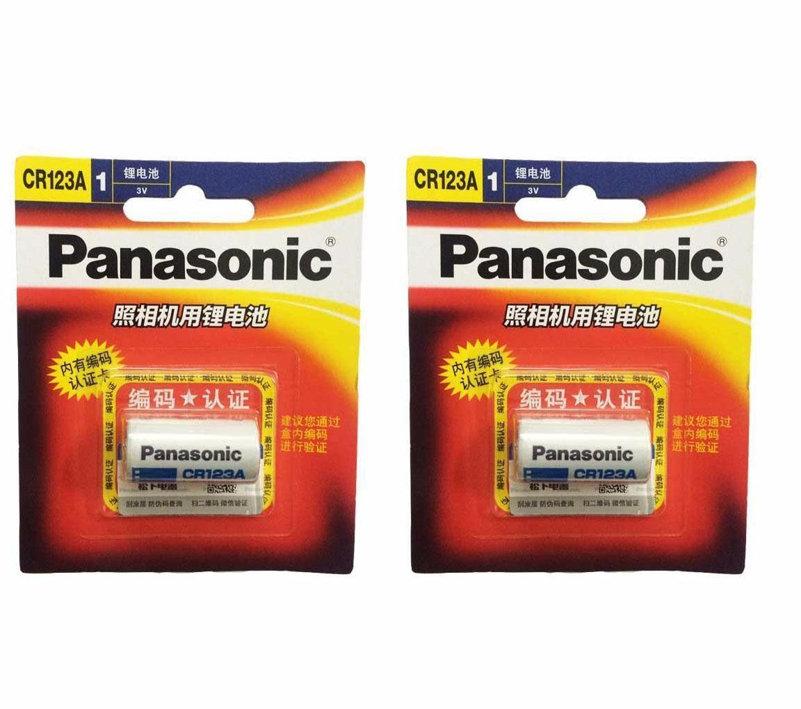 2 Pin CR123A Panasonic, Pin máy ảnh 3V