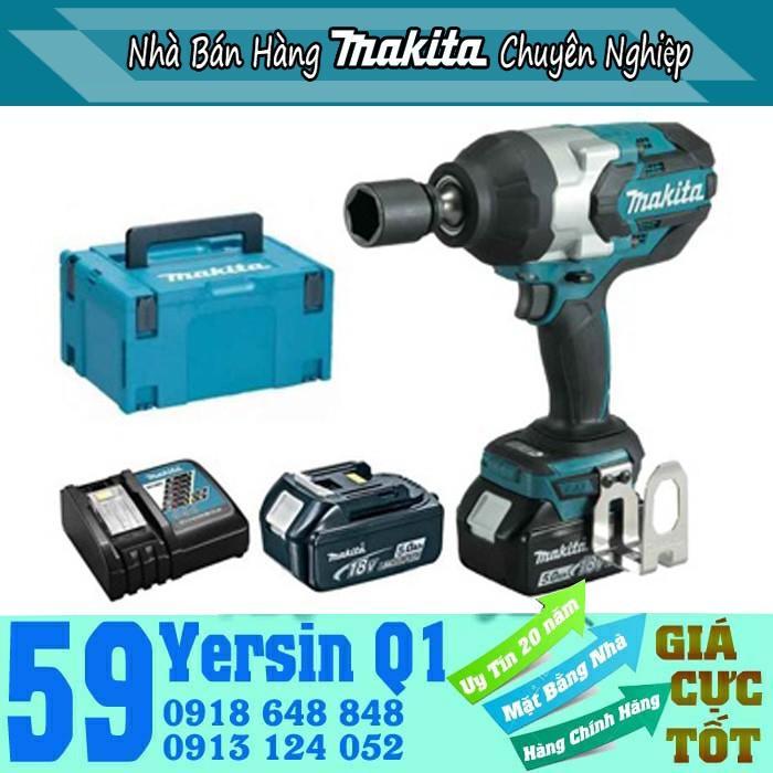 Máy siết bu lông dùng pin 3/4 Makita DTW1001RTJ 18V