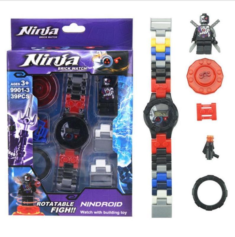 Đồng Hồ Điện Tử Tháo Lắp Anh Hùng Ninja Dành Cho Bé Trai bán chạy