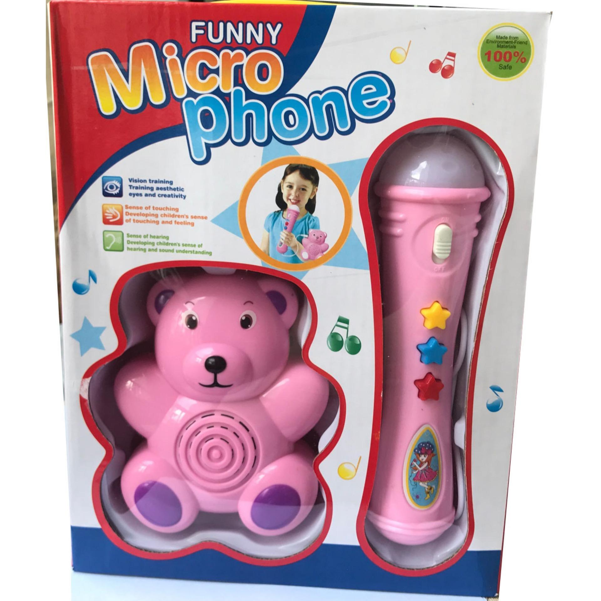 Hình ảnh Bộ Micro Phone Funny cho bé - Thanos Store