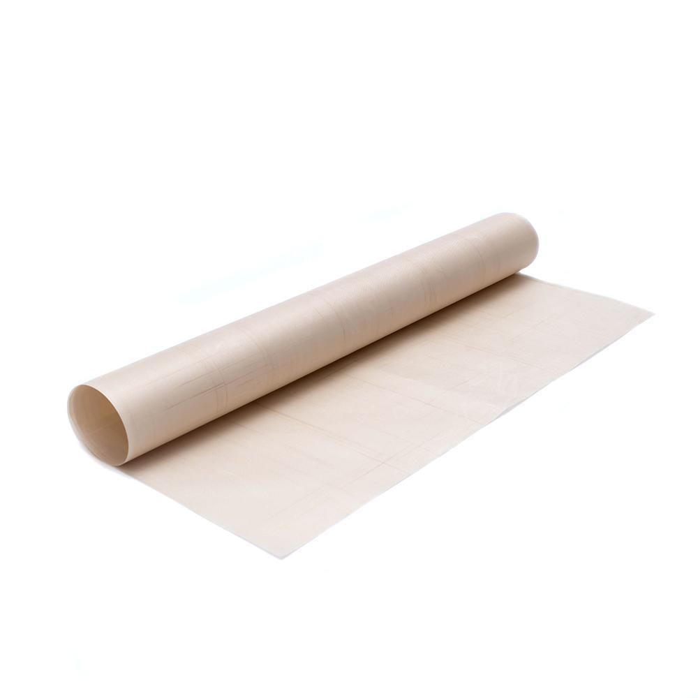 60*40 Cm Kain Fiberglass Tikar Non-stick BBQ Multifungsi Alas Nonstick Panggang Lembar-Internasional