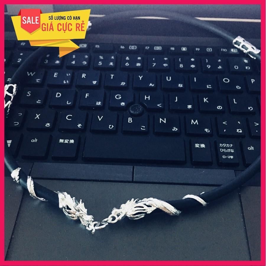 Hình ảnh Dây bạc Thái khóa rồng cao cấp