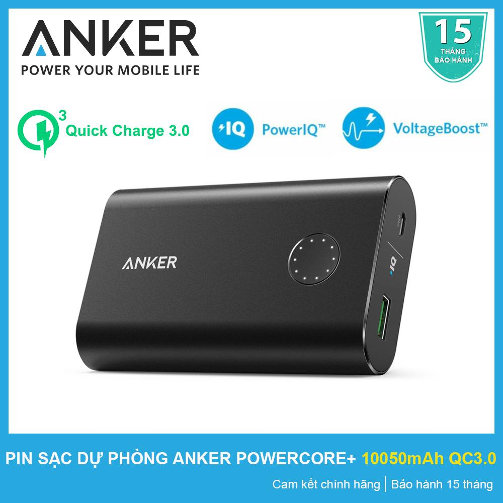 Giá Bán Pin Sạc Dự Phong Anker Powercore 10050 Mah Quick Charge 3 Đen Chinh Hang Bảo Hanh 15 Thang Mới Rẻ