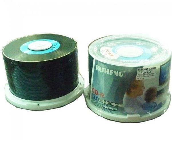 Hình ảnh Bộ 50 đĩa trắng CD RISHENG AUDIO chép nhạc nghe cực hay 700MB