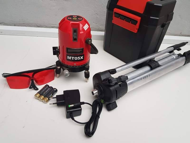 Máy cân mực Laser 5 tia đỏ MT05X(
