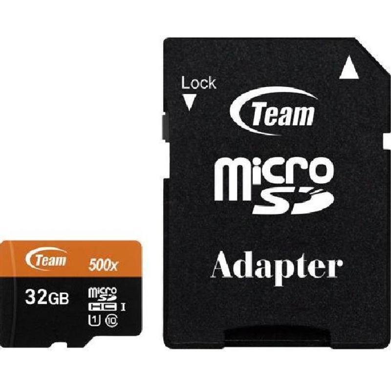 Thẻ nhớ MicroSD Team UHS-I 32Gb Nhanh hơn Class 10 chuyên dụng cho camera