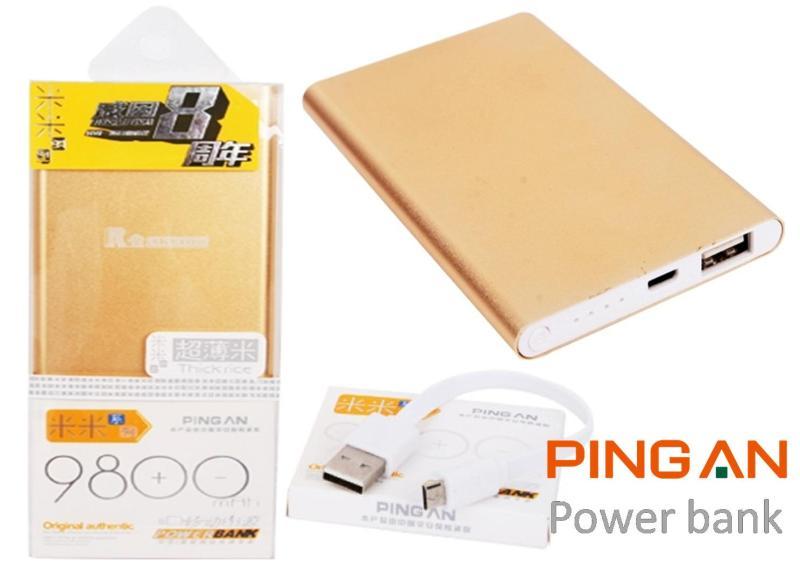 Pin Sạc Dự Phòng Pingan 9800 Vỏ Nhôm Siêu Mỏng