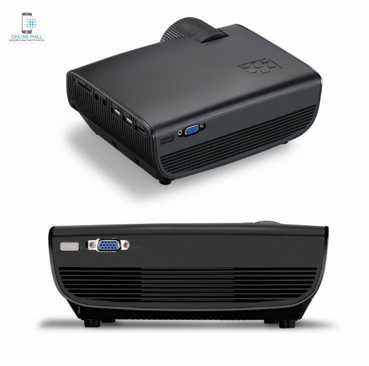 Máy chiếu W50 3D HD1080p SmartEco 40W (sử dụng được ban ngày, ngoài trời) (White \ Black)