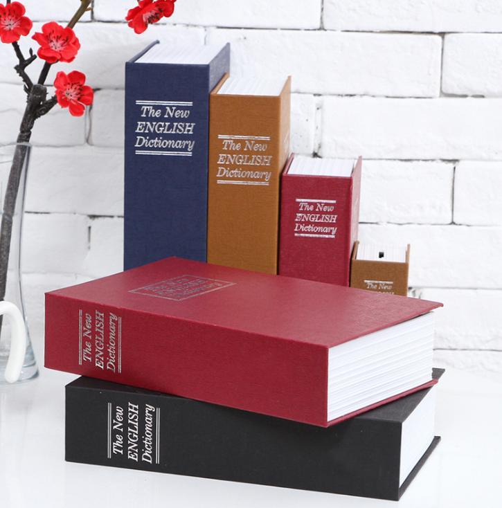 Két Sắt Mini Quyển Sách Cao Cấp
