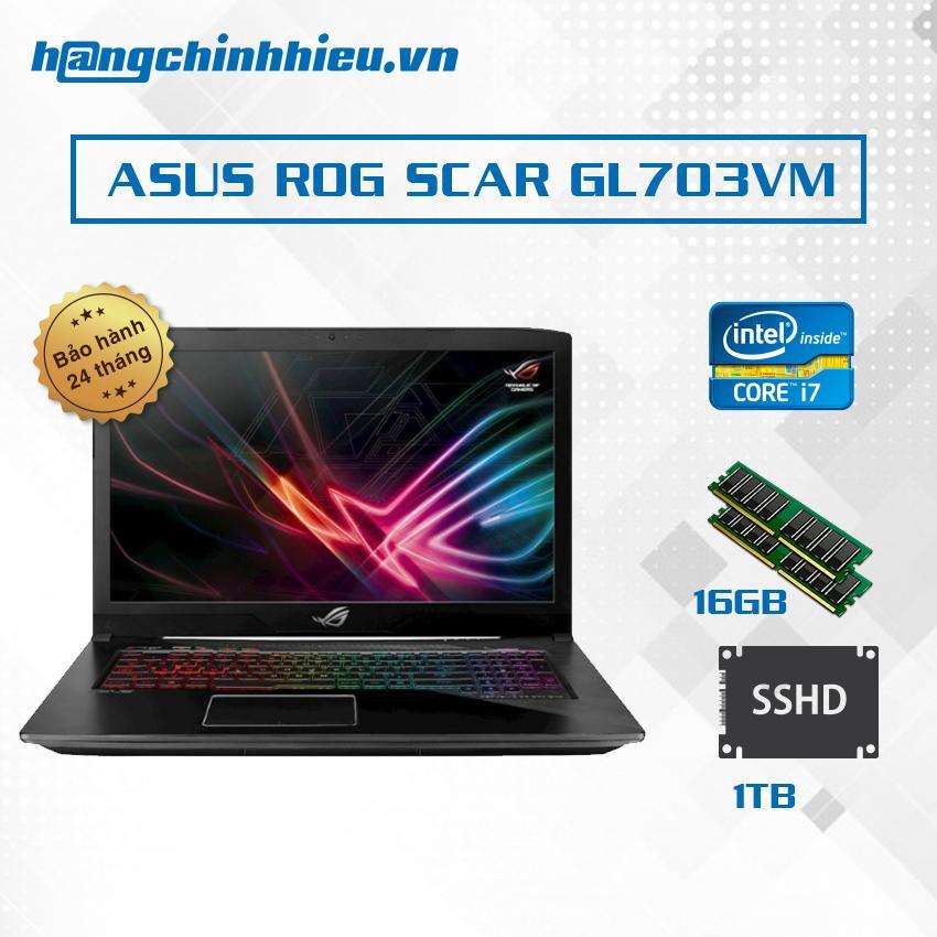 Mua Laptop Asus Rog Scar Gl703Vm Ee095T I7 7700Hq Vga Gtx 1060 6Gb 17 3 Inch Hang Phan Phối Chinh Thức Asus Rẻ