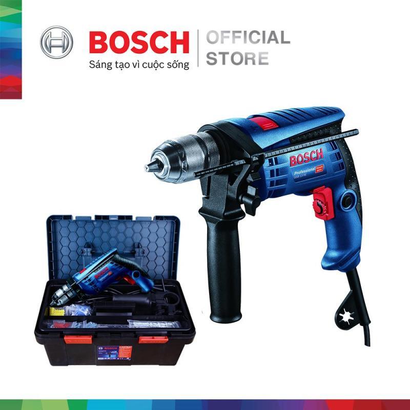 Máy khoan động lực Bosch GSB 13RE Freedom Set - Tặng bộ phụ kiện FREEDOM 90 chi tiết
