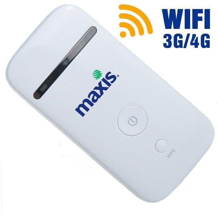 Hình ảnh Thiết bị phát Wifi 3G 4G PKCB Maxis MF65 Tốc Độ Cao