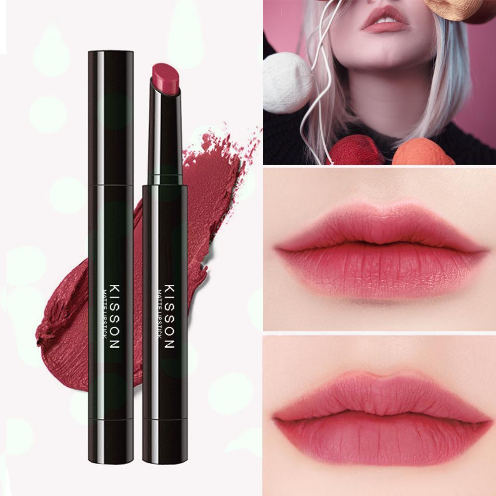 Hình ảnh Son lì KISSON Matte Lipstick mã KN07 ( màu hồng đất)