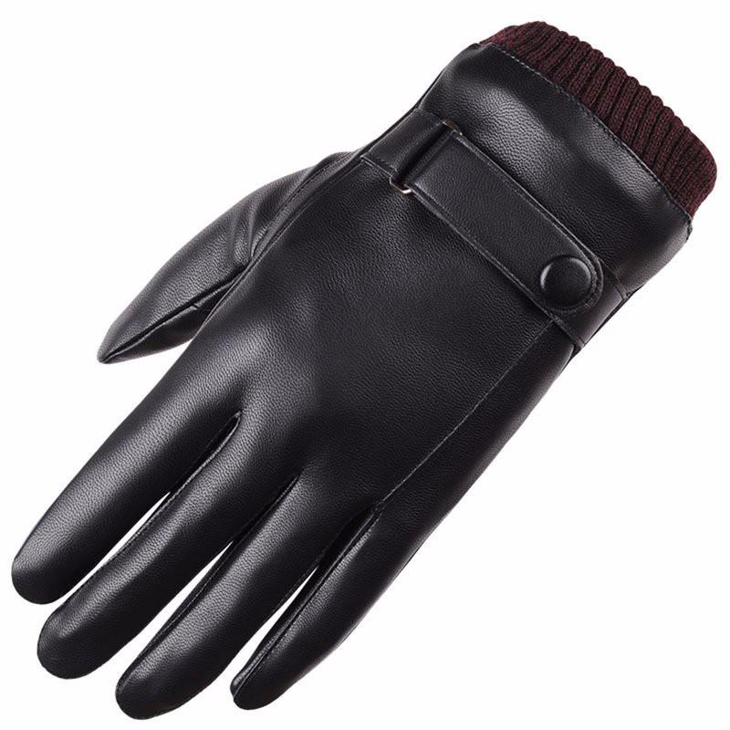 Găng tay da nam cao cấp 4