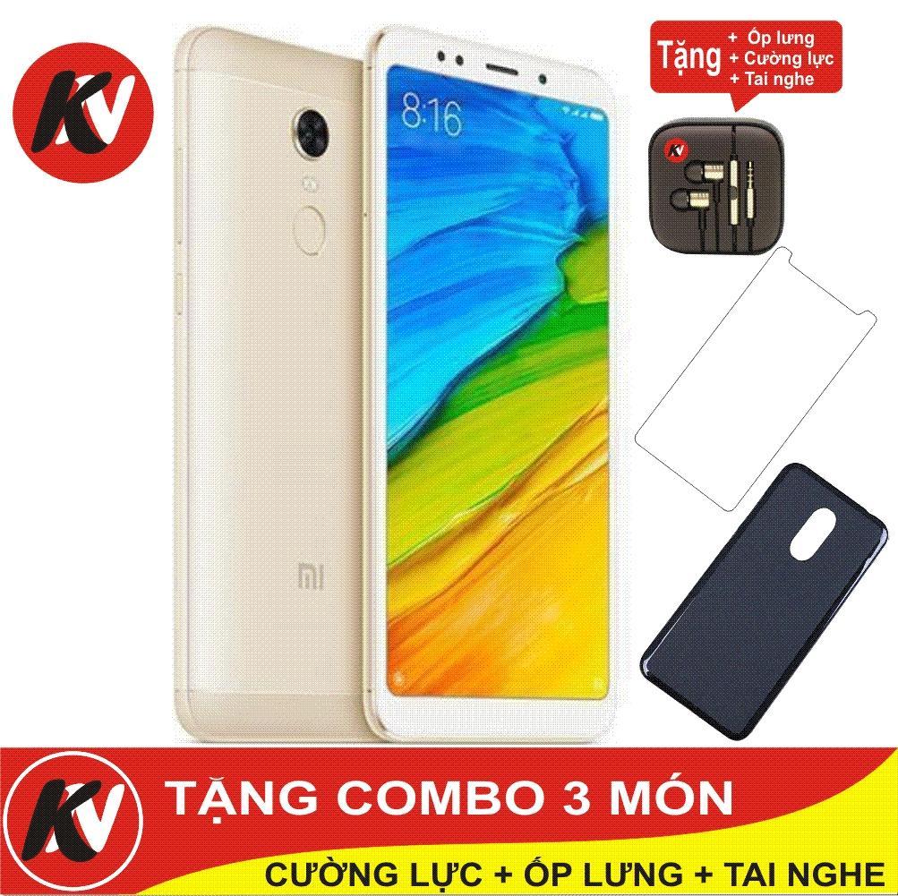 Bán Xiaomi Redmi 5 Plus 64Gb Ram 4Gb Kim Nhung Vang Hang Nhập Khẩu Ốp Lưng Silicon Cường Lực Tai Nghe Hà Nội Rẻ