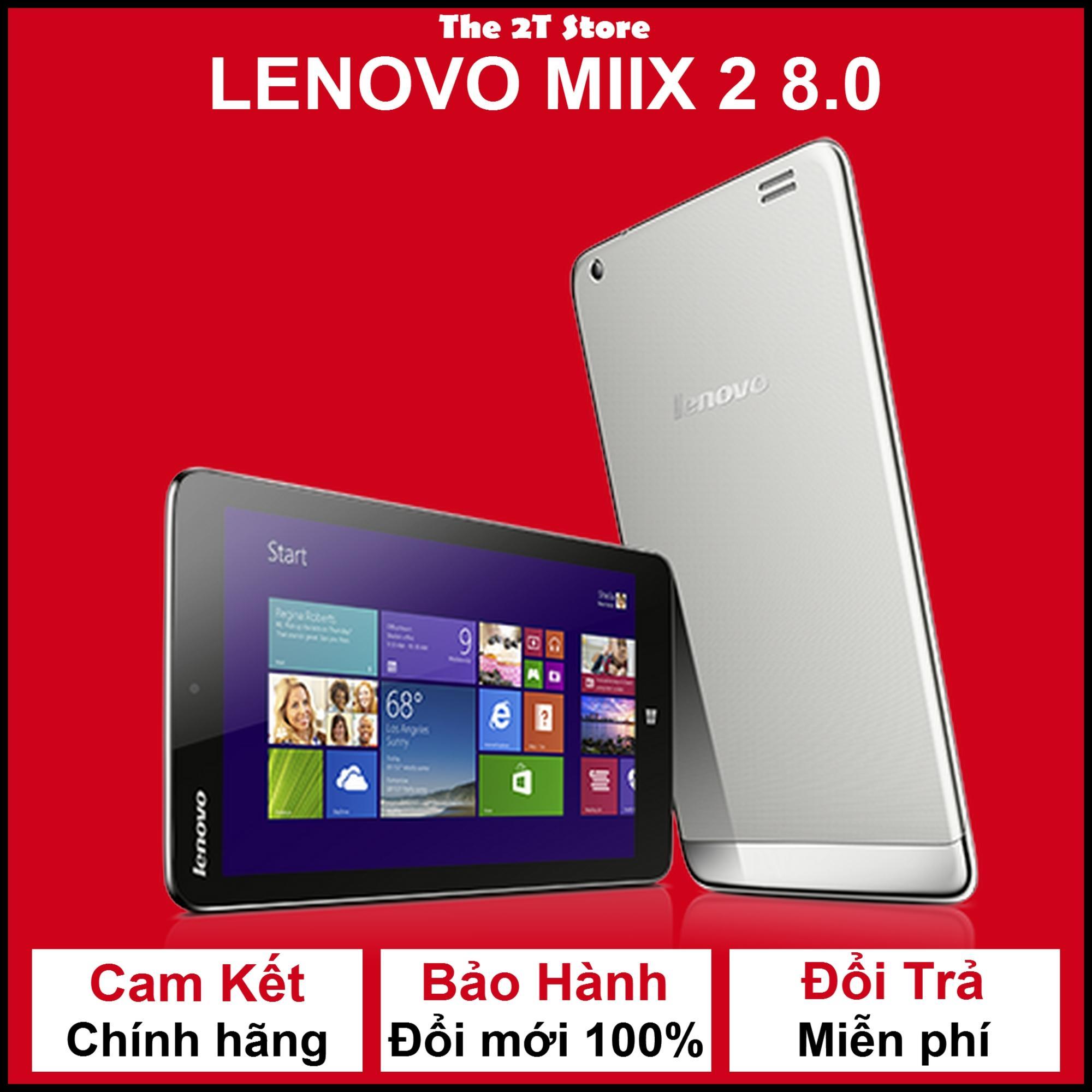 Hình ảnh Máy tính bảng LenovoMiix 3 8.0 (3G+Wifi) (Màu đen) (Hàng xách tay)
