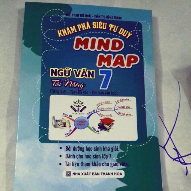Mua Khám phá siêu tư duy Mind Map ngữ văn tài năng 7