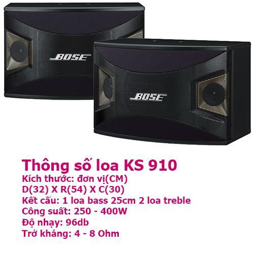 Ôn Tập Trên Loa Nằm Karaoke Bose Kms 910