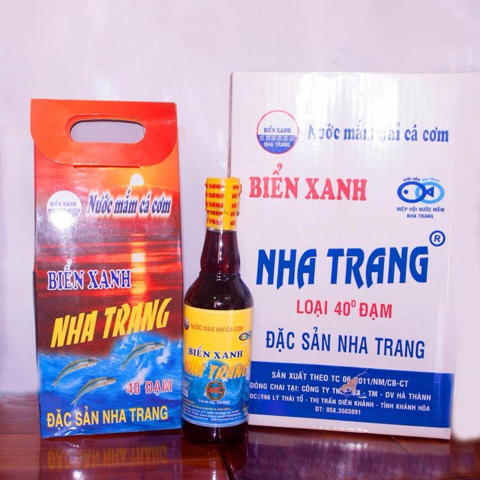 Bán Nước Mắm Nha Trang Loại Đặc Biệt 40 Đạm Thung 3 Lit Trực Tuyến Việt Nam