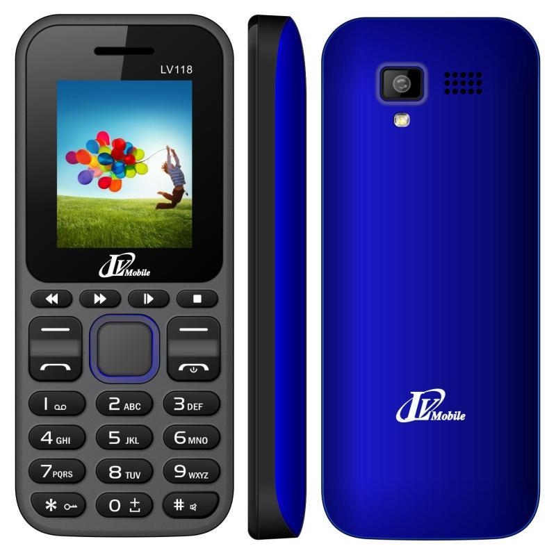 Điện thoại Lv mobile LV118 2 sim nghe nhạc MP3, nghe FM Bảo hành chính hãng LV 12 tháng