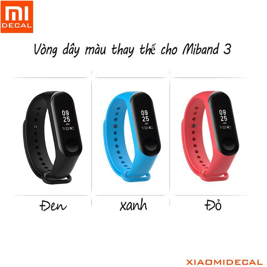 Hình ảnh Vòng dây màu thay thế cho Miband 3