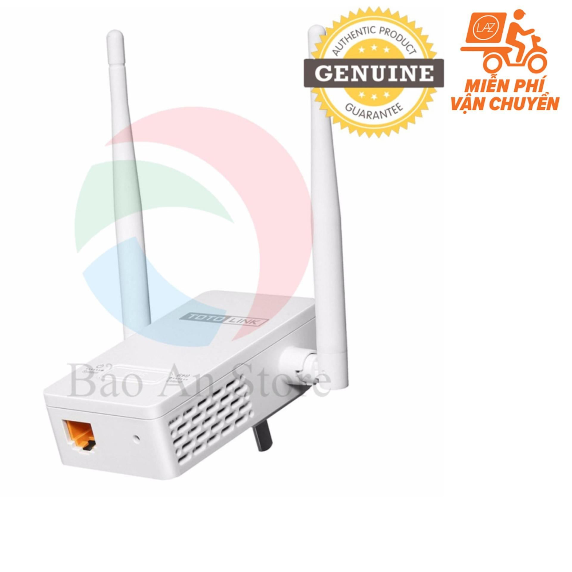 Bán Thiết Bị Kich Song Wifi Repeater Totolink Ex200 Trắng Rẻ