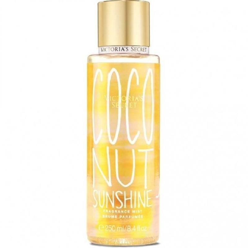 Nước hoa xịt thơm toàn thân Victorias Secret Fragrance Mist Coconut Sunshine 250ml (Mỹ)