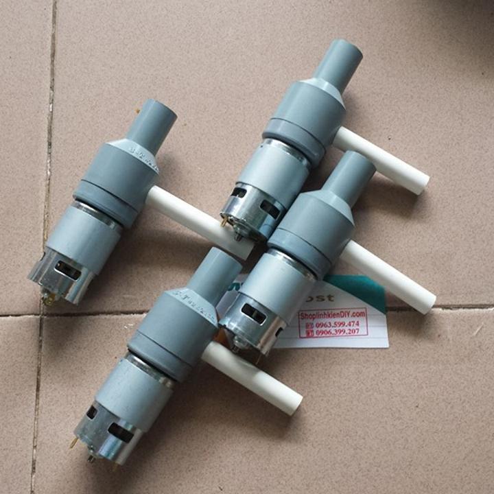Hình ảnh máy bơm nước chế với motor 775 150w