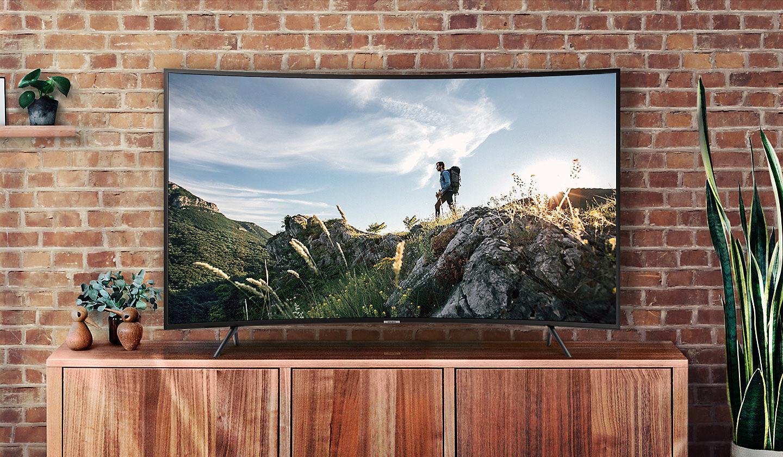 Smart TV cong 4K  55 inch  Samsung 55NU7300 chính hãng