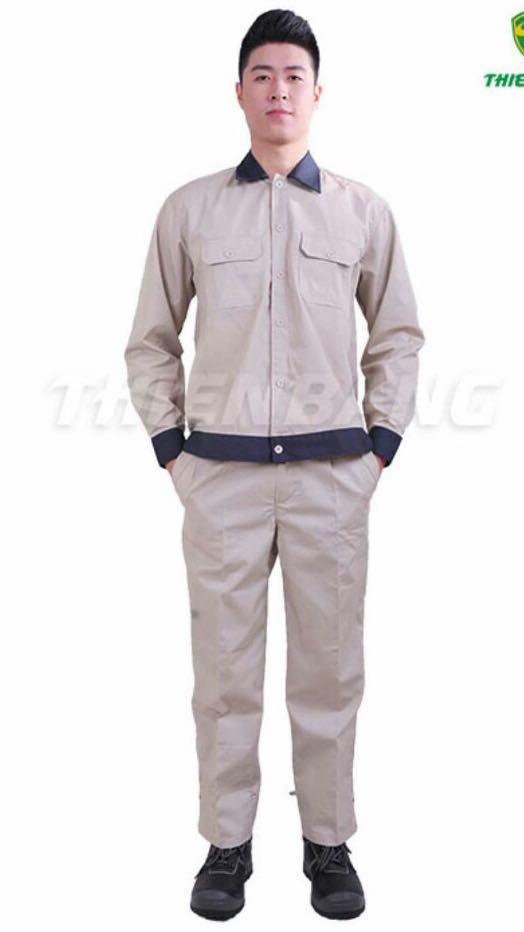 Hình ảnh Quần áo bảo hộ lao động TB03 dành cho kỹ sư kỹ thuật