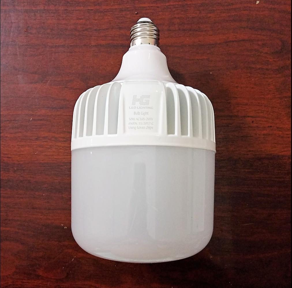 Ôn Tập Bong Đen Led Bulb Trụ 50W Sang Trắng Bulb Trụ Than Nhom Cao Cấp Mới Nhất