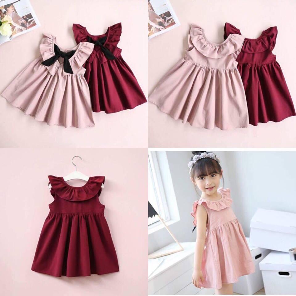 Hình ảnh Váy nơ bèo cực yêu dành cho bé gái