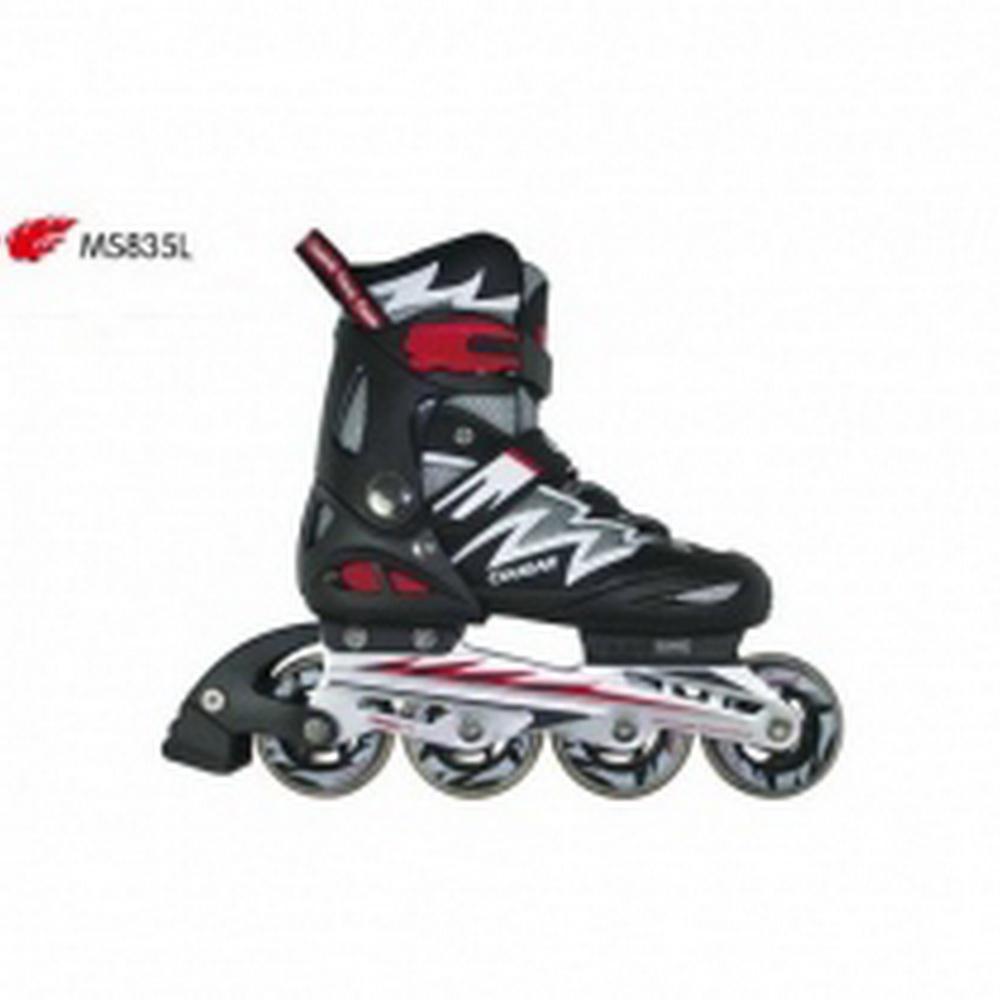 Giày trượt Patin Cougar MS835-L12 Đen phối trắng (Size 34-37)