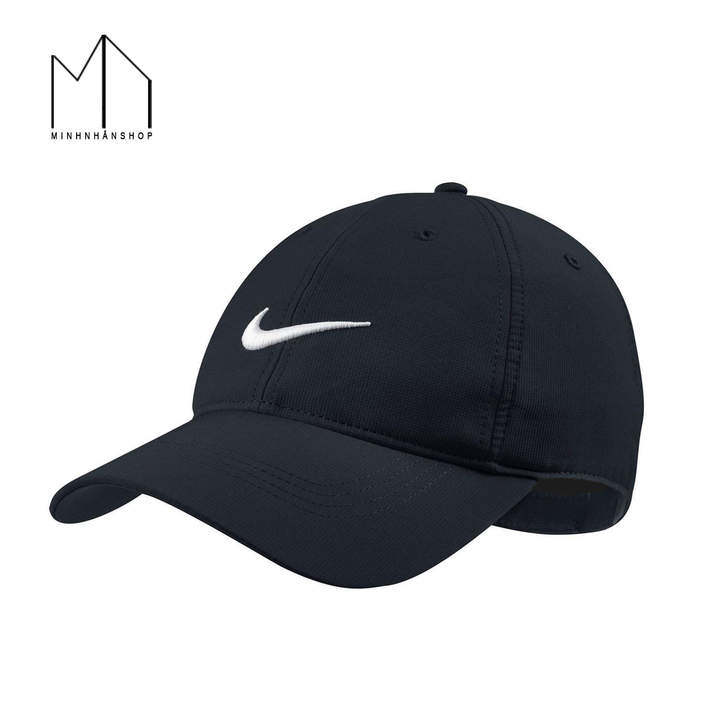 Hình ảnh Nón kết lưỡi trai hợp thời trang kiểu dáng Nike_Đen