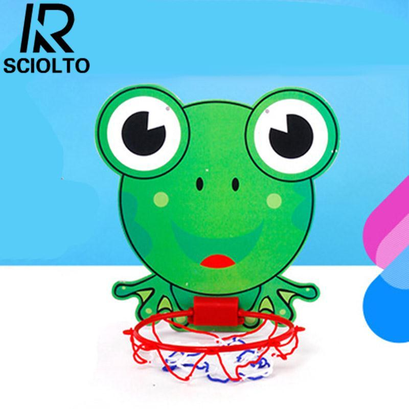 Hình ảnh SCIOLTO SPORTS Baby Sports Indoor Outdoor Mini Backboard Basketball Hoop Net Toy Gift Pump Set - intl
