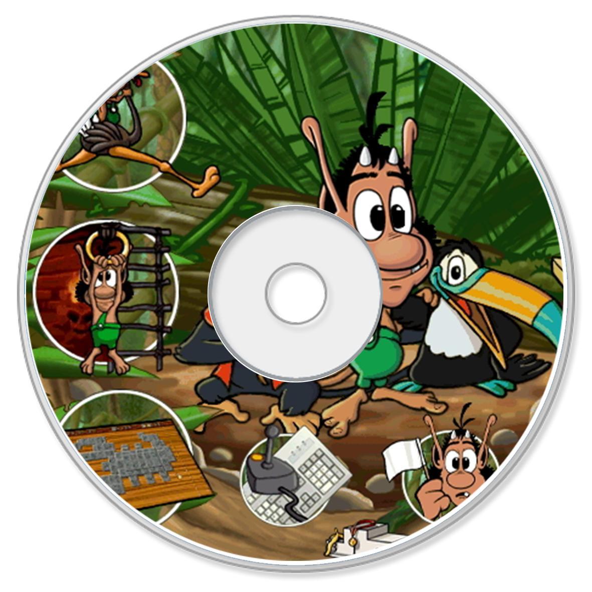 Hình ảnh Đĩa VCD game HUGO : Giải cứu Hugo Lina Phần 1