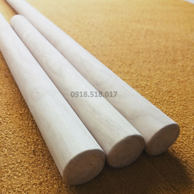 Hình ảnh Bộ 3 gậy Arnis gỗ Bạch Lạp phi 25mm