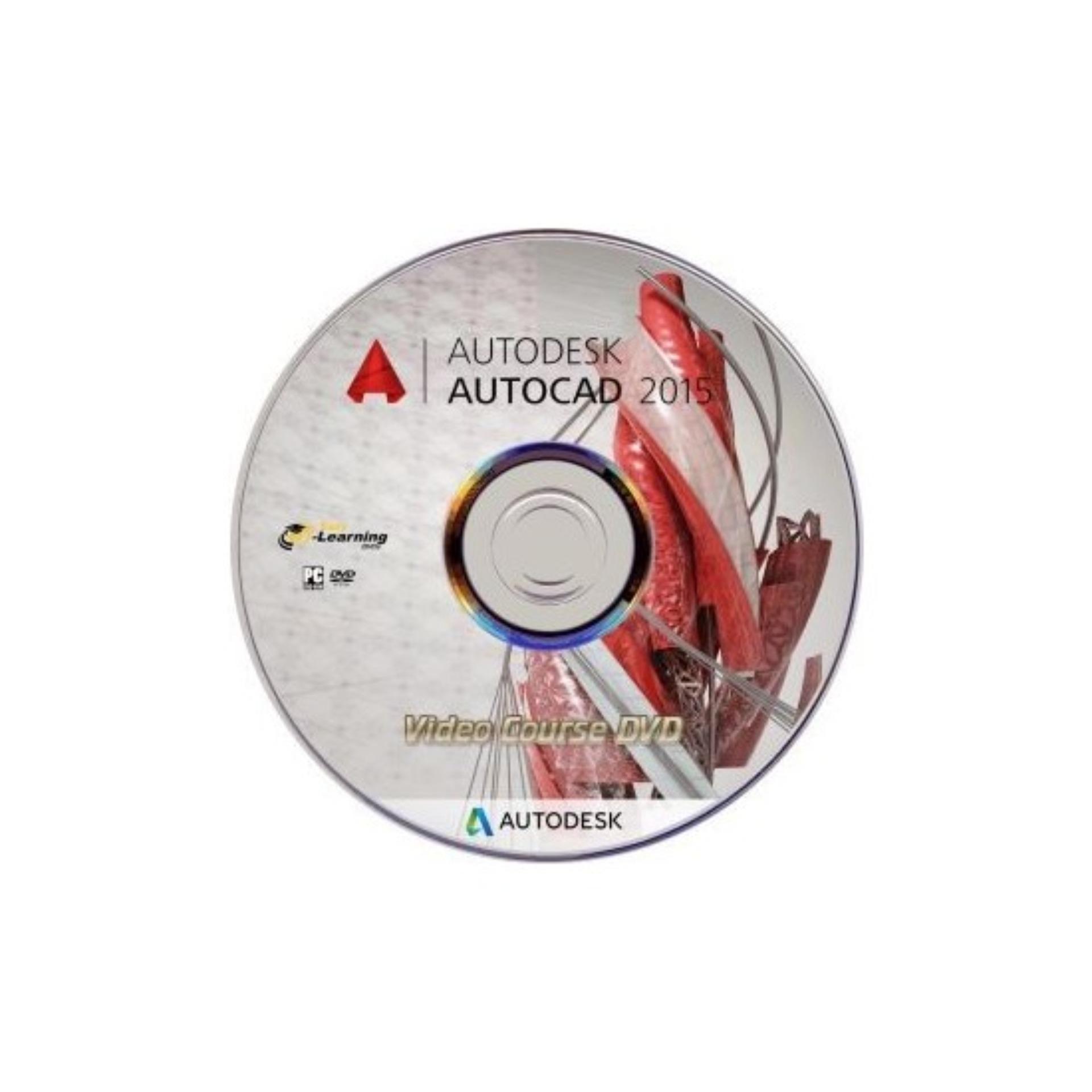 Hình ảnh Bộ Đĩa AUTOCAD 2007 - 2015 - 2017 (full crack) Autocad 2015 64bit