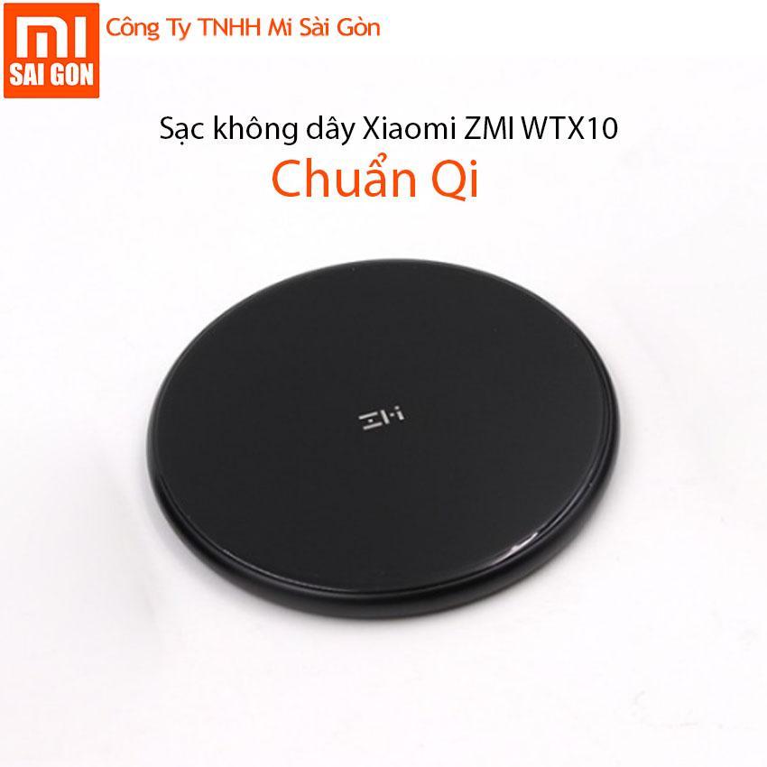 Mã Khuyến Mại Sạc Khong Day Xiaomi Zmi Wtx10 Chuẩn Qi Hồ Chí Minh