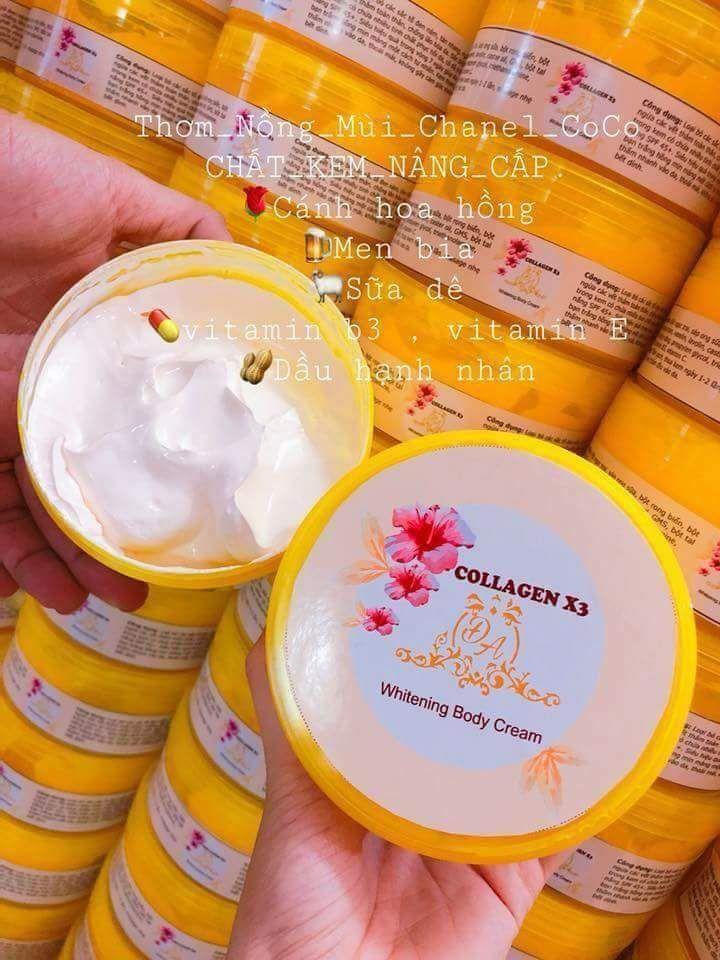 Cửa Hàng Kem Body Collagen X3 Oem Trong Bạc Liêu