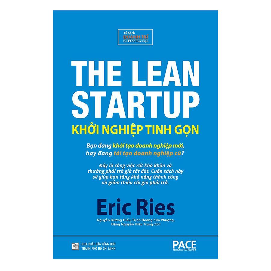 Mua Khởi Nghiệp Tinh Gọn (The Lean Startup) Bìa Cứng - Tái Bản 2018