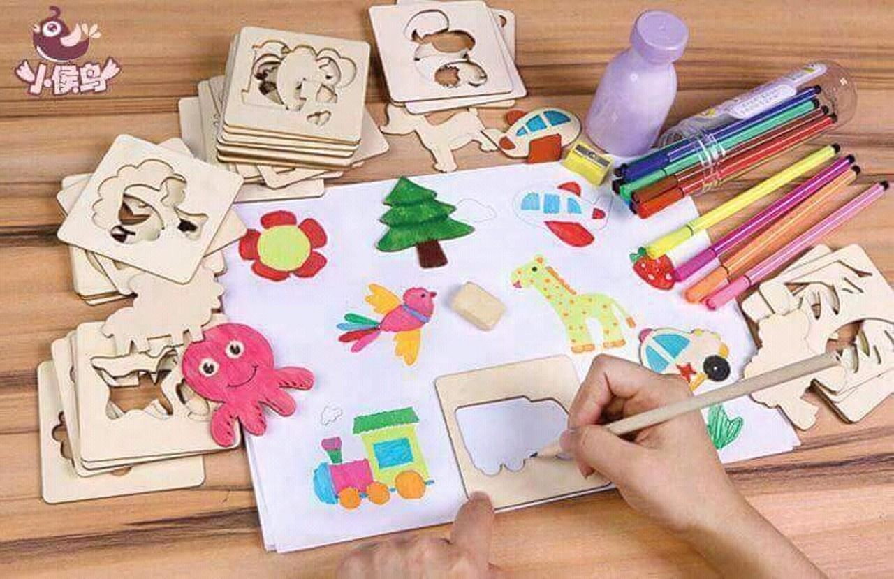 Hình ảnh Bộ khung tập vẽ và tô màu 50 mẫu
