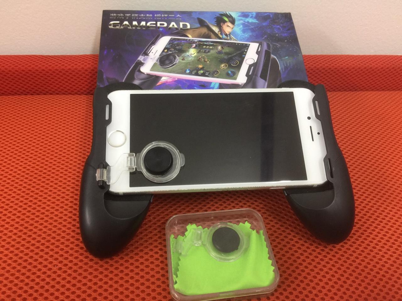 Hình ảnh Tay cầm chơi game có nút bấm - Gamepad - Tặng 2 Nút joystick