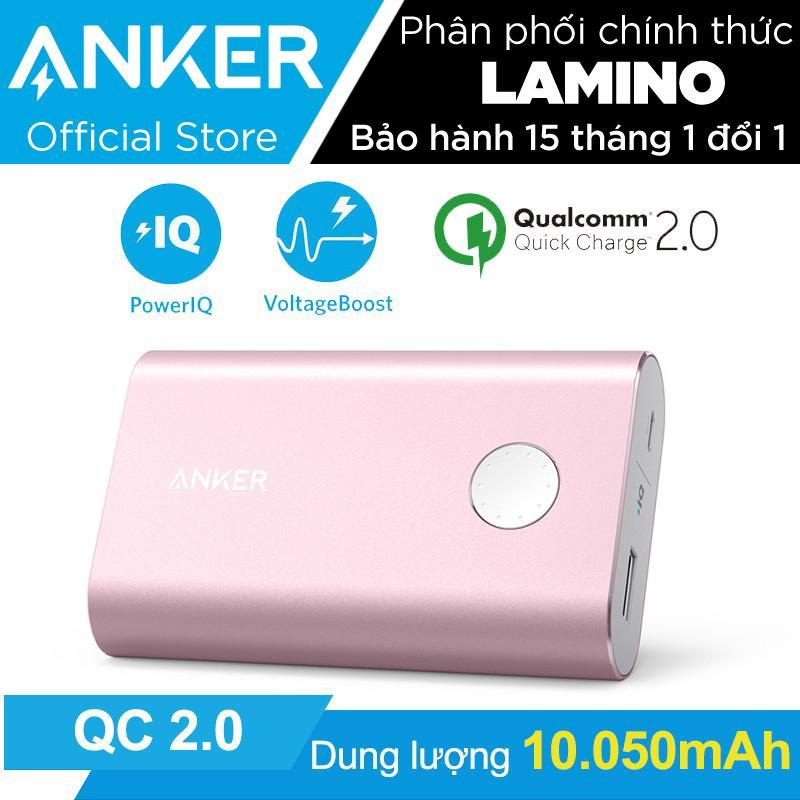 Bán Pin Sạc Dự Phong Anker Powercore 10050Mah Quick Charge 2 Hồng Hang Phan Phối Chinh Thức Anker Trực Tuyến