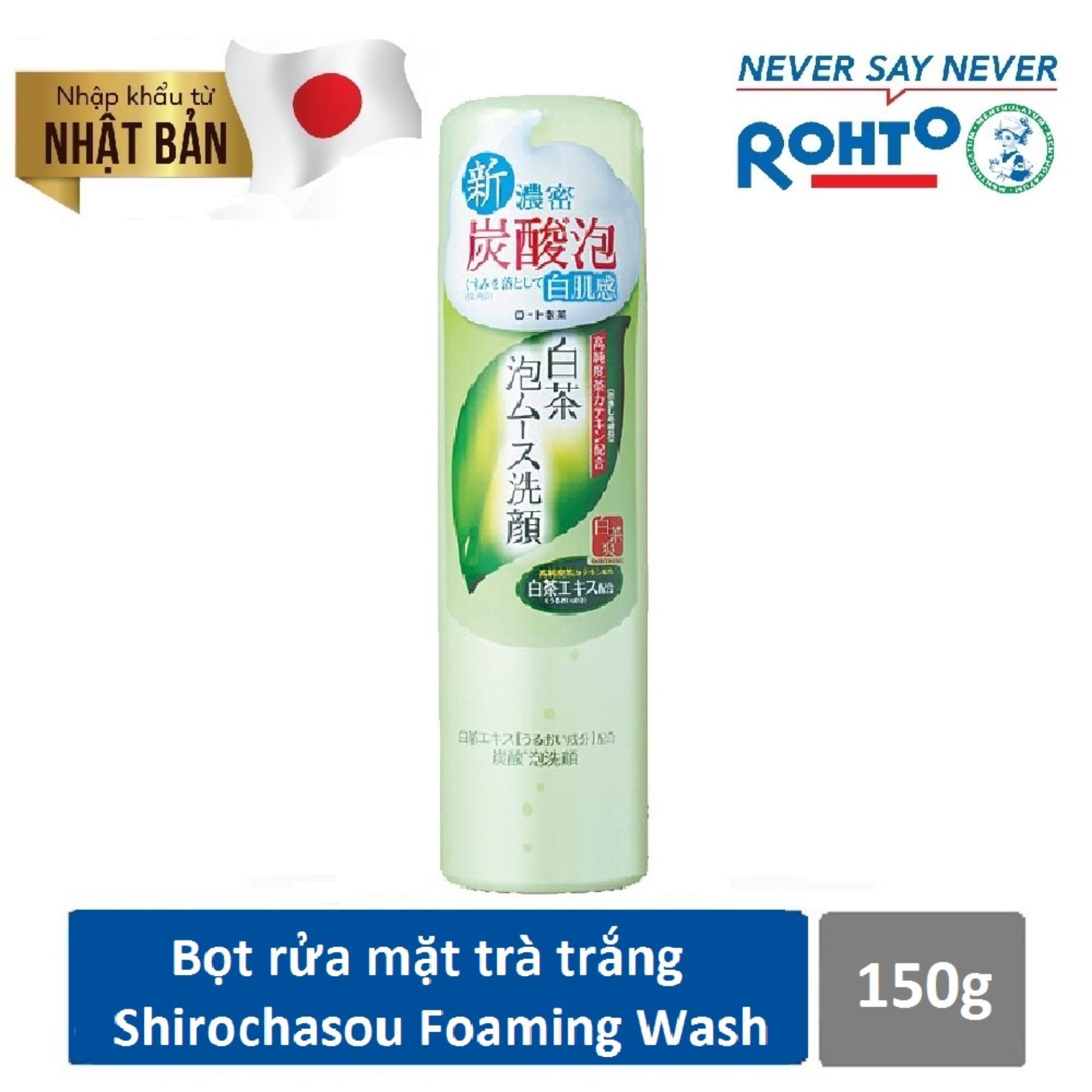 Mua Bọt Rửa Mặt Tra Trắng Shirochasou White Tea Foaming Wash 150G Nhập Khẩu Từ Nhật Bản Đồng Gia Shirochasou Rẻ
