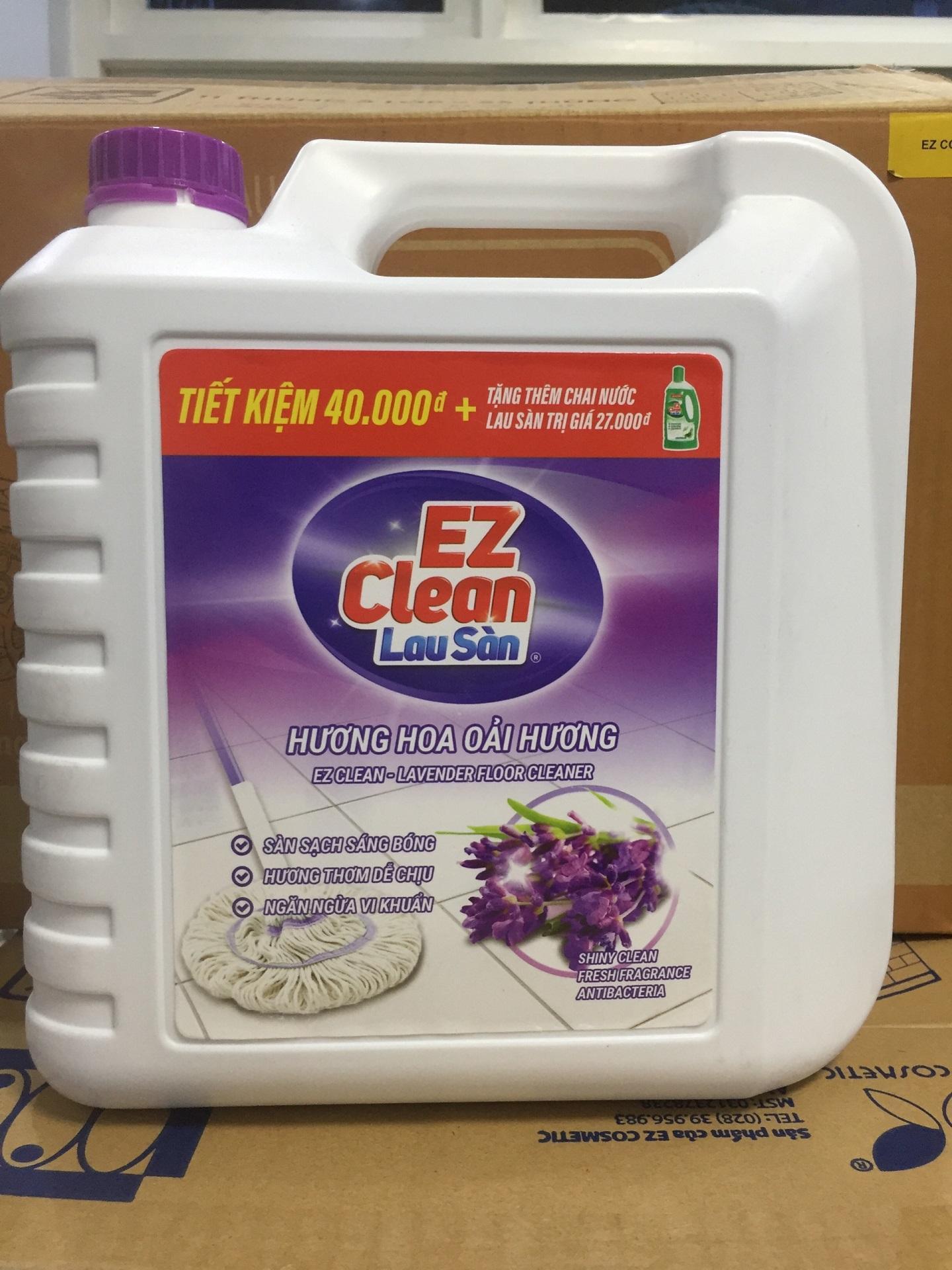 Hình ảnh Nước Lau sàn EZ Clean Hương Lavender 5kg