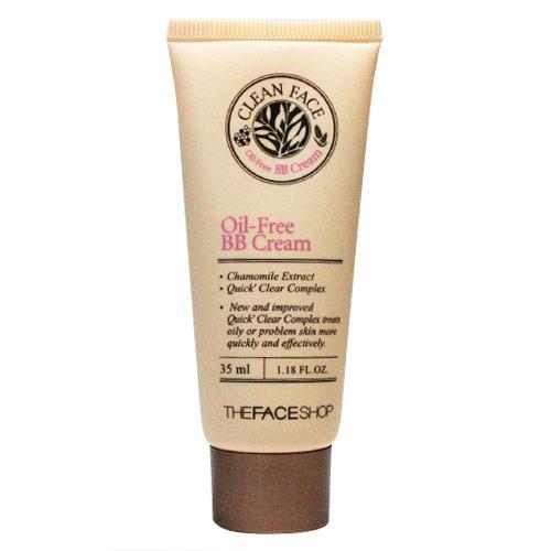 Clean Face Oil Free BB Cream BB Dành Cho Da Dầu Da Mụn Thefaceshop tốt nhất