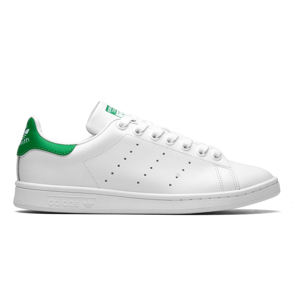 Giày sneaker Adidas Stan smith gót xanh lá nam nữ