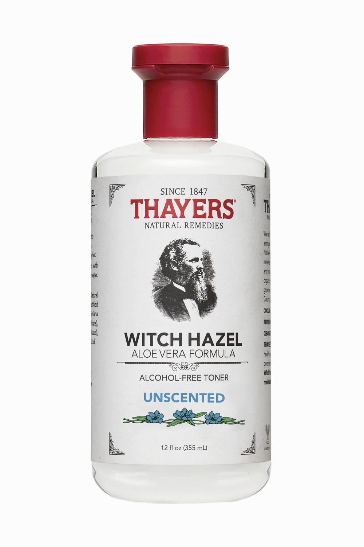 Nước hoa hồng không cồn THAYERS Alcohol-Free Unscented Witch Hazel Toner 355ml (Dành cho da nhờn và da mụn)